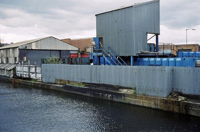 Birmingham and Fazeley Canal (Scan from the 1980s), near Cuckoo Bridge