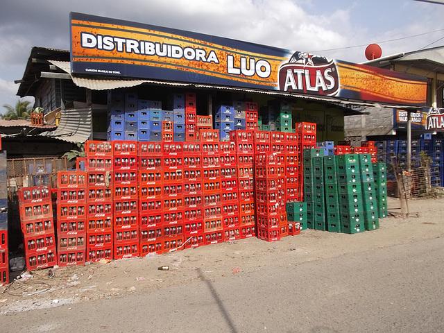 Hay bastante Coca-cola