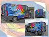 Graphics company  van collage