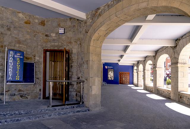 pórtico Ayuntamiento Mungia