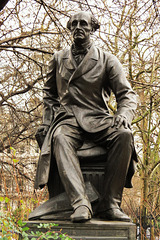 john stuart mill, statue, embankment, london (1)
