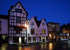 Twilight in Salisbury