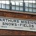 Arthur's Mission sign