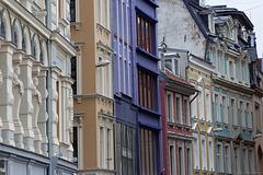 Fassaden in Riga (© Buelipix)