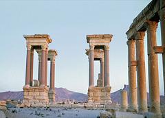 C'était le Tétrapyle de Palmyre