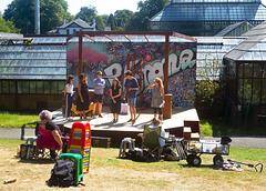 Open Air Theatre at the Glasgow Botanic Gardens