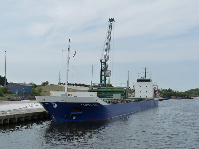 Cargo Vessel 'Longfjord' at Eastham