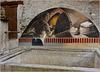 Usseaux : Arti e mestieri - il fornaio - murales