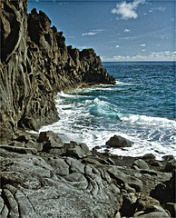 Piedra  volcanica