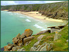 Pednvounder Beach and Cornish granite