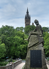 South African War Memorial, Kelvingrove Park, Glasgow
