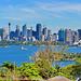 P1260148- Baie de Sydney depuis le zoo - Zoo Sydney. 25 février 2020
