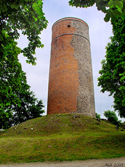 Bad Belzig, Bergfried der Burg Eisenhardt