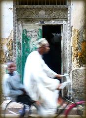 Zanzibar. Old Stone Town. A Zanzibar Door. 201208