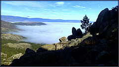 Lozoya Valley fog. H. A. N. W. E. everyone!