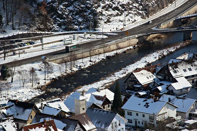 Schwarzwaldhochstrasse - Murg - Tal