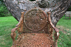 Rusted Garden Chair