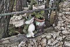 Mr Frog Says Hello – El-Muraqa Monastery, Daliyat al-Karmel, Israel