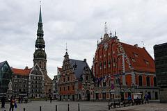 Schwarzhäupterhaus Riga (© Buelipix)