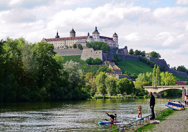 Ein Sommertag am Main - A summer day at the Main river