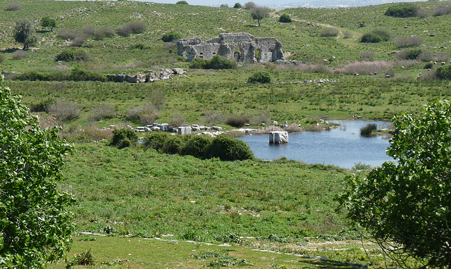 Miletus- Towards the Silted-up Harbour