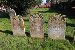 Ling Memorials, St Mary's Churchyard, St Mary's Street, Bungay, Suffolk