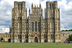 The beautiful Wells Cathedral.