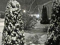 Notre première neige !