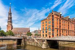 St. Katharinen and Bridges (000°)