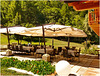 Bousson : restaurant room on the lawn - (693)