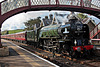 Peppercorn class A1 60163 TORNADO at Kirkby Stephen with 1Z18 16.58 Carlisle - Leicester The Pennine Explorer 22th May 2021.