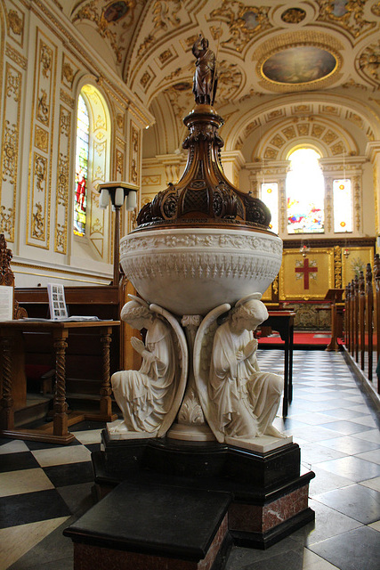 Font, St Michael and All Angels, Great Witley, Worcestershire