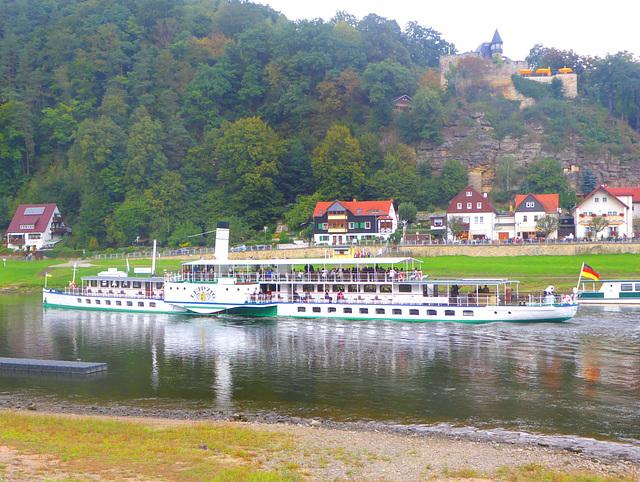 Radtour Stadt Wehlen - Bad Schandau mit Überraschungen