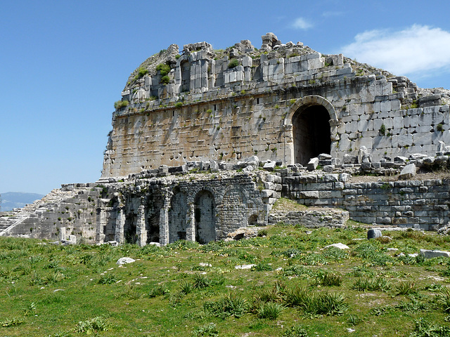 Miletus- Side of the Great Theatre
