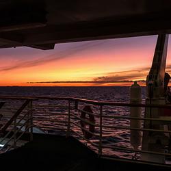 Vestfjord sunset (PiP)