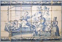 Museu do Azulejo, Clister