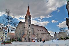 Jakobsplatz mit Jakobkirche,Nürnberg