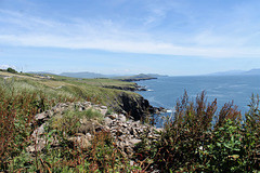 A view along the west coast of Ireland