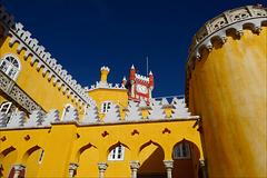 Palácio Nacional da Pena, Ouro sobre Azul