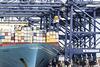 Loading the Evelyn Maersk