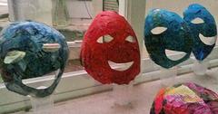 We walk all masked but unimpressive