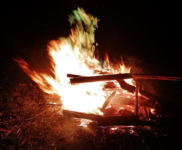 magic flames!