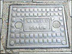 calling a manhole a manhole
