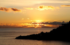 Madeira. Funchal. Sunset.  ©UdoSm