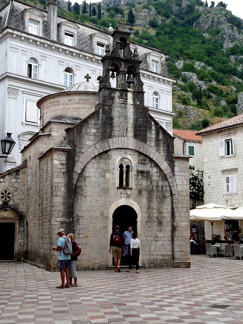Kotor- Saint Luke's Church