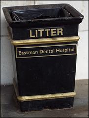 Eastman litter bin
