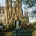 ES - Barcelona - Vor der Sagrada Familia