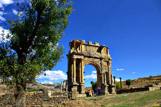 Ruines Djemila a Setif..!
