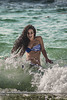 Saltando las olas