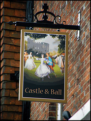 new Castle & Ball sign